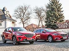 Обновленные Mazda6 и Mazda CX-5 против украинских дорог. Видео