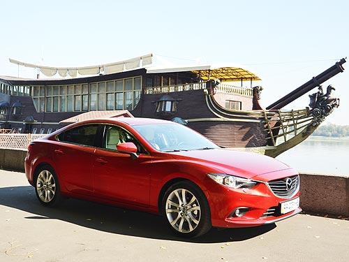 Тест-драйв Mazda6 на фоне конкурентов. Бизнес-класс для среднего класса