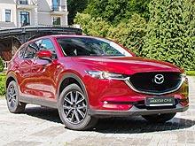 Тест-драйв Mazda CX-5 New на украинских дорогах