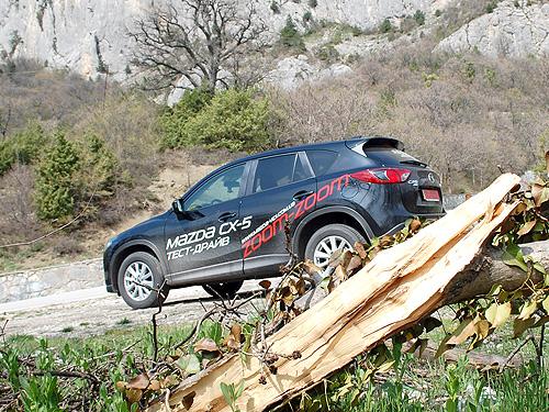 Тест-драйв Mazda CX-5 2.5 л: Пол-литра лишними не бывают