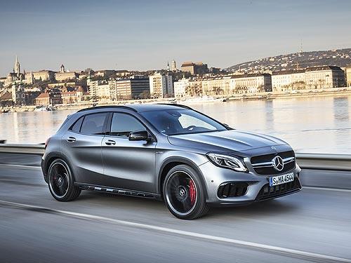 Тест-драйв кроссовера Mercedes-Benz GLA. Всесторонне одаренный SUV - Mercedes-Benz
