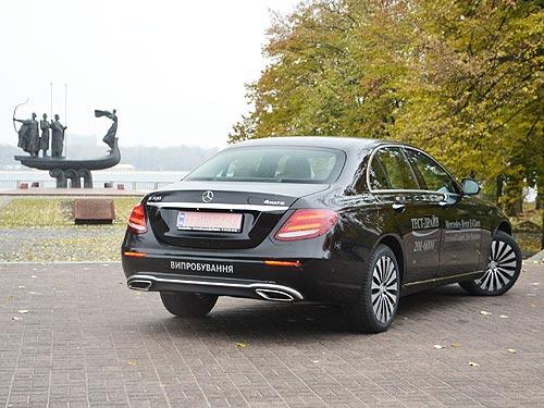 Тест-драйв Mercedes-Benz E-Class: вне статуса