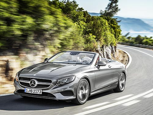 Тест-драйв самого роскошного кабриолета Mercedes-Benz