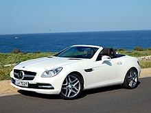 Тест-драйв Mercedes-Benz SLK: время ездить без крыши - Mercedes-Benz