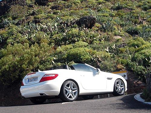 Тест-драйв Mercedes-Benz SLK: время ездить без крыши