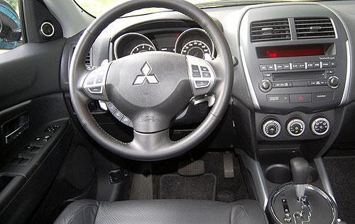 Тест-драйв Mitsubishi ASX: Городской кроссовер