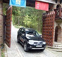 Тест-драйв: Mitsubishi Pajero Sport в «Стране УАЗов» - Mitsubishi