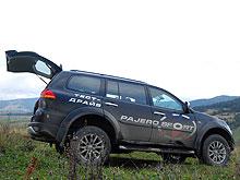 Тест-драйв: Mitsubishi Pajero Sport в «Стране УАЗов»
