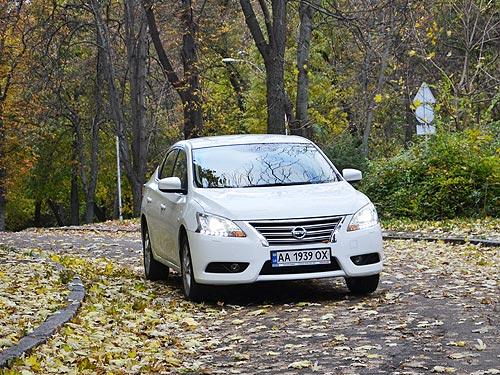 Тест-драйв Nissan Sentra. Много автомобиля за небольшие деньги