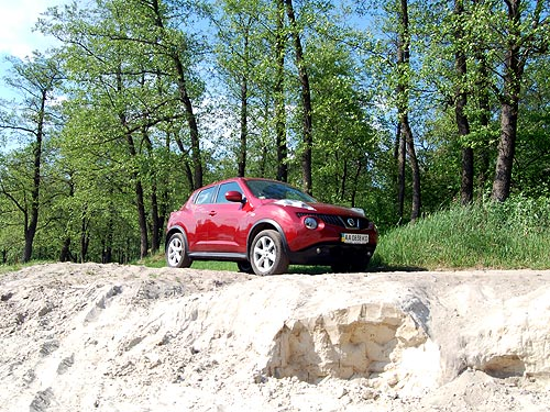 Тест-драйв Nissan Juke: Врожденная оригинальность