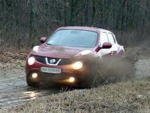 Тест-драйв Nissan Juke 4х4 190 л.с. Городская ракета