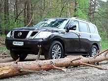 Тест-драйв Nissan Patrol: VIP-патрулирование