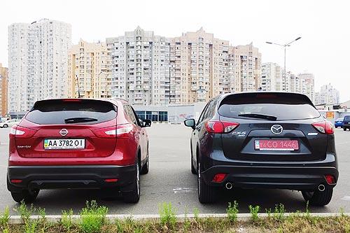 Сравнительный тест-драйв: Nissan Qashqai New vs Mazda CX-5. Какой дизельный кроссовер лучше