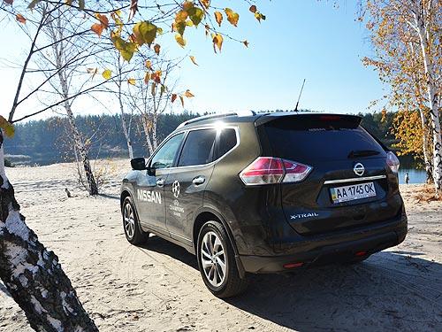 Тест-драйв Nissan X-Trail: два шага вперед