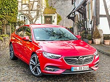 Тест-драйв Opel Insignia New: Что получилось на пути к премиум-классу - Opel