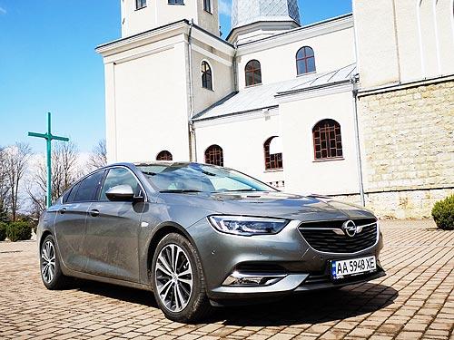 Немецкий премиум по украинской цене. Тест-драйв Opel Insignia Grand Sport