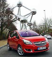 Тест-драйв Opel Meriva New: компактный автомобиль с большими возможностями