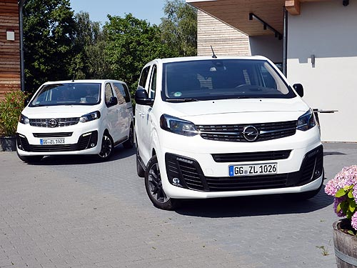 Богатая немецкая тетушка. Тест-драйв Opel Zafira Life - Opel