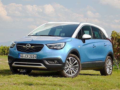 Тест-драйв Opel Crossland X: золотая середина между SUV и минивэном