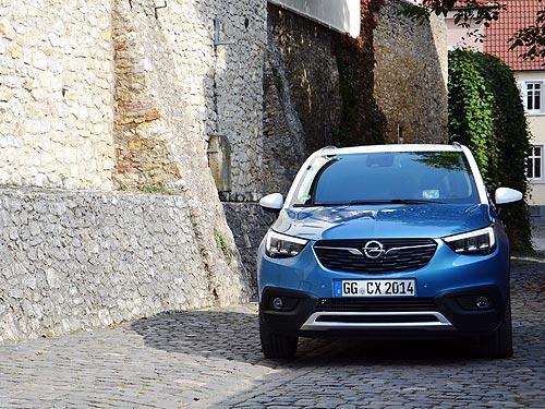 Тест-драйв Opel Crossland X: золотая середина между SUV и минивэном  - Opel
