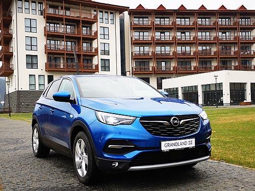 Немец с хорошей французской родословной. Тест-драйв Opel Grandland X