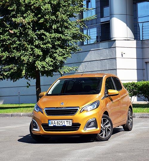Проворный или просторный. Тест-драйв Peugeot 108 - Peugeot