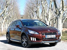 Тест-драйв Peugeot 508 RXH: экономим деньги или бережем природу? - Peugeot