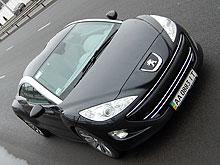 Тест-драйв Peugeot RCZ: Гламур в зимнем городе