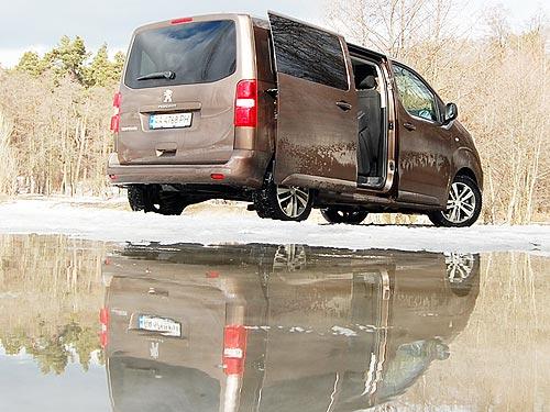 Тест-драйв Peugeot Traveller: Путешествие первым классом - Peugeot