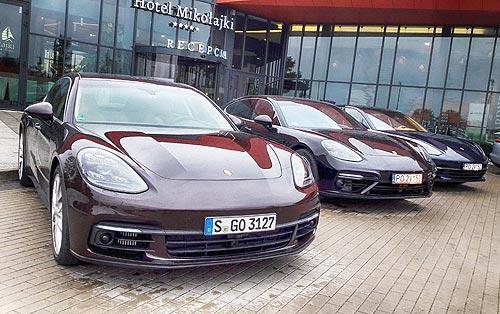 Тест-драйв Porsche Panamera: 911-я для четверых