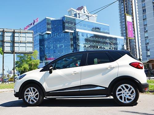 Тест Renault Captur: Европейские ценности на украинских дорогах