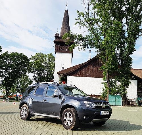Тест-драйв Renault Duster: Крепкий честный парень - Renault