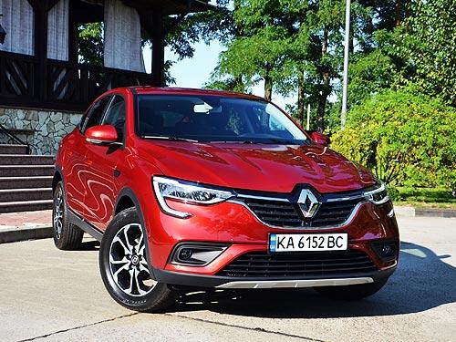 Как ездит самое доступное кросс-купе. Первое знакомство с Renault Arkana - Renault