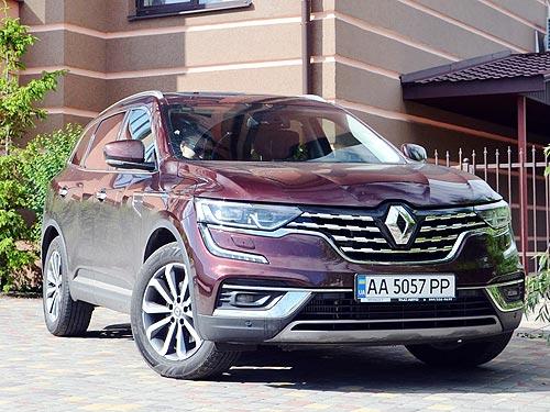 Почему стоит обратить внимание на Renault Koleos. Тест-драйв