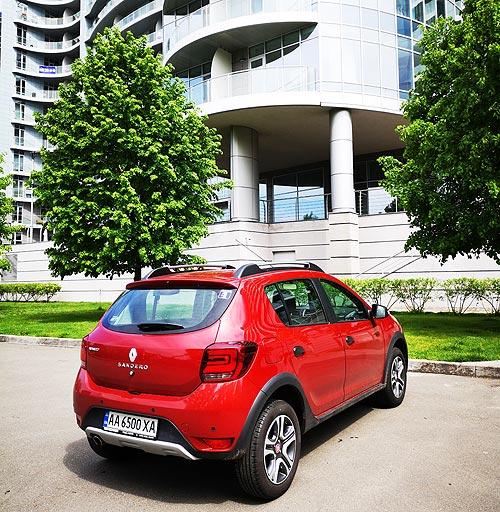 Тест-драйв обновленного Renault Sandero Stepway. Бюджет без дефицита - Renault