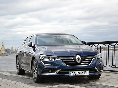 Тест-драйв Renault Talisman: На машине посла Франции по Киеву - Renault