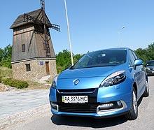 Тест-драйв Renault Scenic: минивэн с секретом