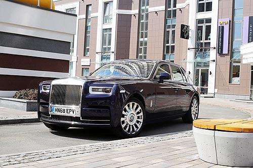 Билет в клуб избранных: Тест-драйв Rolls-Royce Phantom в Киеве