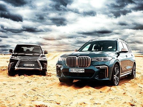 Сравнительный тест BMW X7 и Lexus LX 450d: Война миров