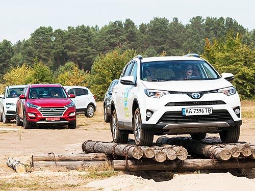 Сравнительный тест Toyota RAV4, Skoda Karoq, Hyundai Tucson и Suzuki SX4