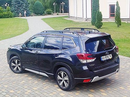 Тест-драйв Subaru Forester: Взгляд на мир сквозь созвездие «Плеяд» - Subaru