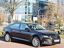 Тест-драйв новой Skoda Superb: Чешский хрусталь на украинских дорогах