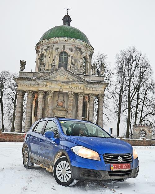 Тест-драйв Suzuki New SX4: По следам «Кашкая»