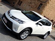 Тест-драйв нового Toyota RAV4: лучше и дешевле