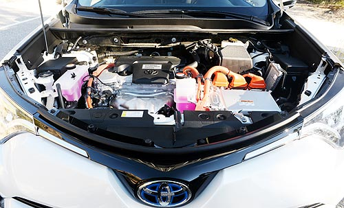 Тест-драйв Toyota RAV4 Hybrid. Стоит ли покупать гибрид ради экономии топлива