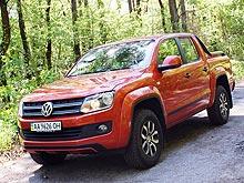 Тест-драйв Volkswagen Amarok Canyon: «Ковбой» в украинских реалиях
