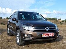Тест-драйв обновленного Volkswagen Tiguan: ищем десять отличий