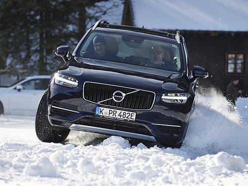 Первое знакомство. Volvo XC90 Hybrid – самый мощный и динамичный серийный гибрид