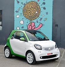 Тест-драйв smart electric drive: Шпион под прикрытием