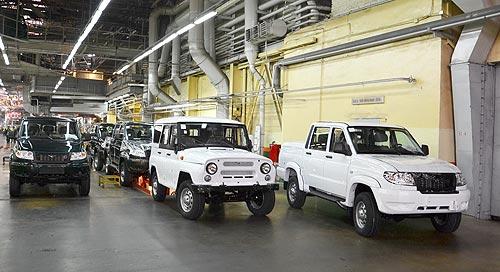 УАЗ останавливается на 1,5 месяца - УАЗ
